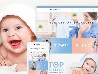 Babytera - Magento Theme with 50% Discount