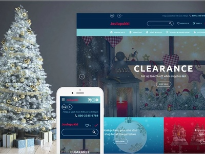 Christmas Responsive OpenCart Template christmas templates gifts holidays opencart ecommerce