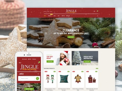 Christmas Responsive Shopify Theme christmas templates gifts holiday shopify ecommerce