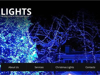 Christmas Moto CMS HTML Template christmas templates gifts holiday moto cms