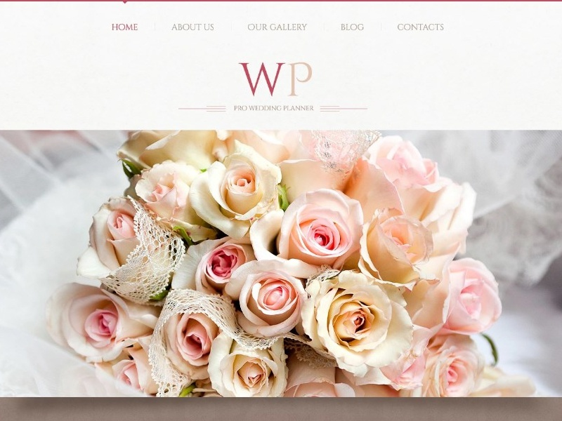 Tender Wedding Planner Wordpress Theme By Templatemonster Dribbble