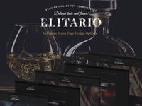 Elitario - Liquor Store WordPress Theme