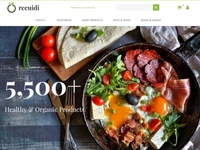 Grocery Store Responsive MotoCMS Ecommerce Template