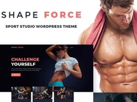 ShapeForce - Sport Studio WordPress Theme