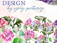 Elegant Peony PNG Watercolor Flower Set Illustration
