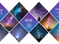 Nova Modern Presentation PowerPoint Template