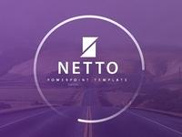 Netto - Creative Financial Presentation PowerPoint Template