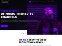 Filmsco - Breathtaking Video Recording Studio Joomla Template