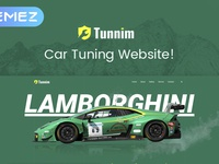 Tunnim - Car Tuning Elementor WordPress Theme