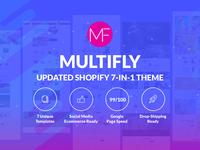 Multifly Multipurpose Shopify Theme Update