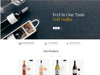 Wine Shine Store OpenCart Template
