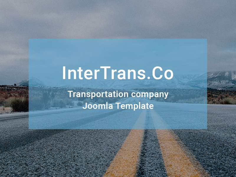 Transportation newsletter templates | templatemonster.