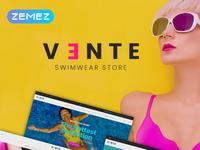 Swimwear Store Clean Bootstrap Ecommerce PrestaShop Theme