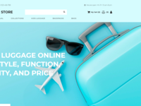 Tourister store - Travel Store MotoCMS Ecommerce Template
