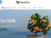 Food Store Clean HTML Bootstrap Landing Page Template