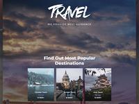 Travel Agency Multipurpose Modern Elementor WordPress Theme