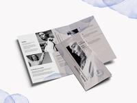 Fashion Trifold Brochure Corporate Identity Template