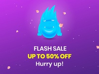 Sale on TemplateMonster