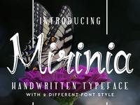 Mirinia Font