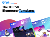 The TOP 50 Elementor Templates