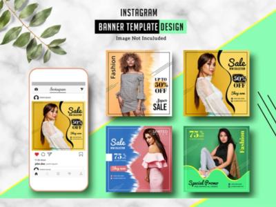 Fashion Sale Instagram Banner Social Media