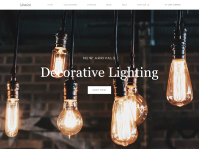 Spark - Lighting Store Modern Shopify Theme