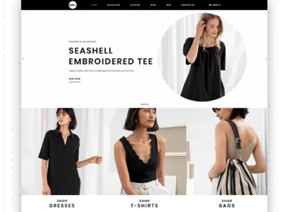 DOT - Women's Fashion & Clothing eCommerce Elegant Shopify Theme