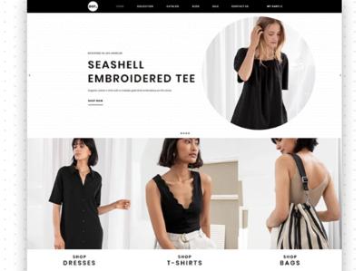 DOT - Women's Fashion & Clothing eCommerce Elegant Shopify Theme