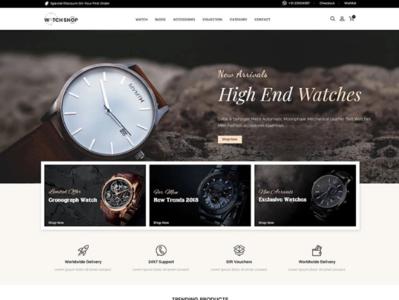 Watch Store Responsive Shopify Theme #84702 website webdesign ecommerce shopify theme shopify jewerly template watch template watch store template watch watch srore
