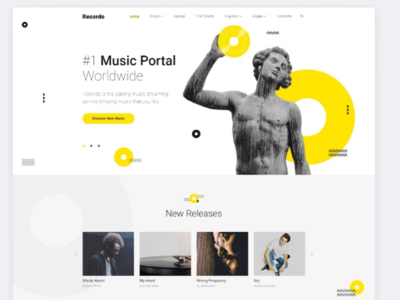 Music Studio Creative Multipage HTML Website Template #84743 web developement html website html art template website music template music studio music studio template