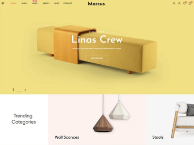 Marcus - Furniture & Home Decor PrestaShop Theme home decor theme furniture theme prestashop theme prestashop home decor furniture