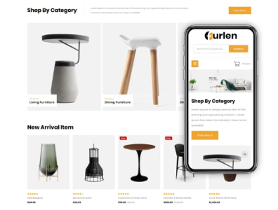 Furlen - Home Decor Store OpenCart Template website open cart template open cart home decor store home store home decor template home decor