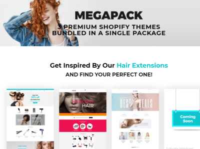 Shopify Hair Extensions Themes - Shopify Theme web development website hair extensions theme shopify store shopify theme shopify