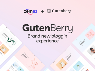 Gutenberry - Clean Blog WordPress Theme for Gutenberg editor webdevelopment webdesign template for blogging gutenberg blog theme wordpress wordpress theme