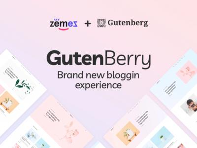 Gutenberry - Clean Blog WordPress Theme for Gutenberg editor webdevelopment webdesign template for blogging gutenberg blog theme wordpress wordpress theme