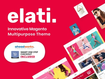 Elati - Aheadworks One Step Checkout Magento Theme online store online shop website template website template