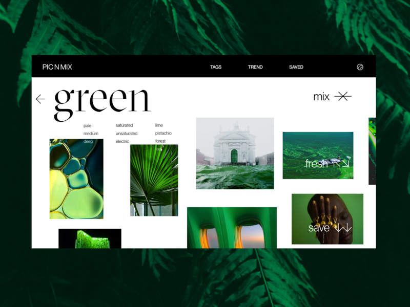 Photography Color Moodboards Site