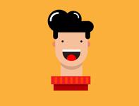 Head Character Illustration Boy