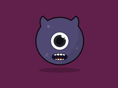Monster purple