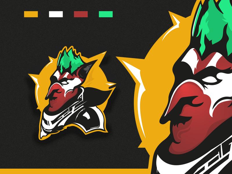 Troll Warrior mascot logos design logos warrior logo troll logotype logo design logo mascot logo gaming logo esport logo branding twitch gaminglogo esports logo mascotlogo illustration gaming