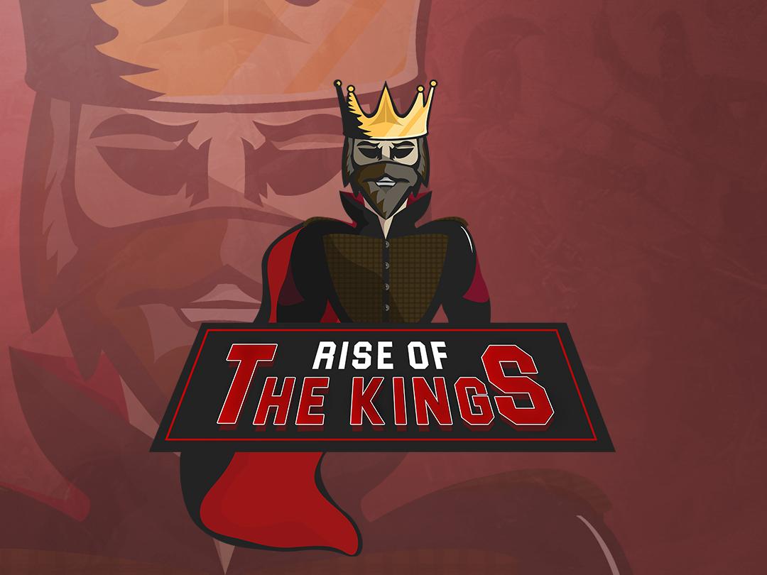 Rise Of The Kings king mascot character dark theme mascot gaming logo esport logo esport branding twitch sports logo mascot logo mascotlogo logodesigner illustration gaminglogo gaming forsale esports logo esportslogo esports