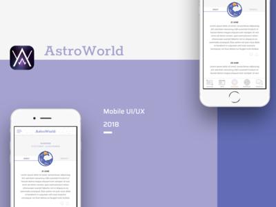 AstroWorld app