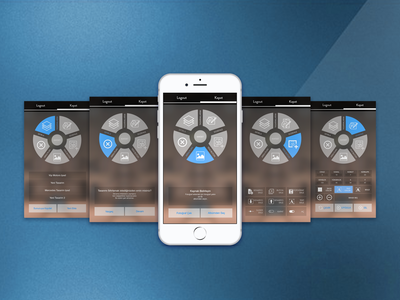 car control dashboard