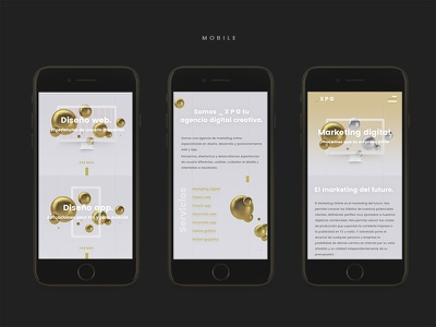 Responsive proposal iphone layout ui ux interface app mobile web responsive