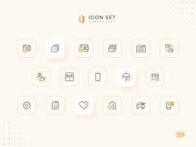 Fintech Icons 💳 fintech icons finance fintech light dark line icons flat icons app iconography icon set icon ui