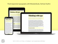 Fluid responsive typography with Modularscale, Vertical rhythm
