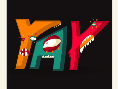 YAY Sticker - What have you done World drawing digital illustration digital art illustration digital animation 2d character character design art graphics graphic tablet illustrator vector design illustration
