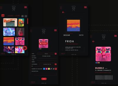 VIZU, mobile layout