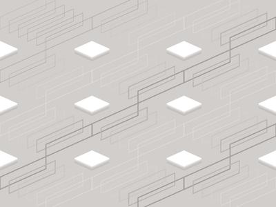 Pattern B vector outlines minimal pattern