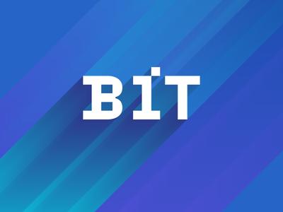 Baltic Institute of Technology logo brutalist flat geometric bold minimal logo